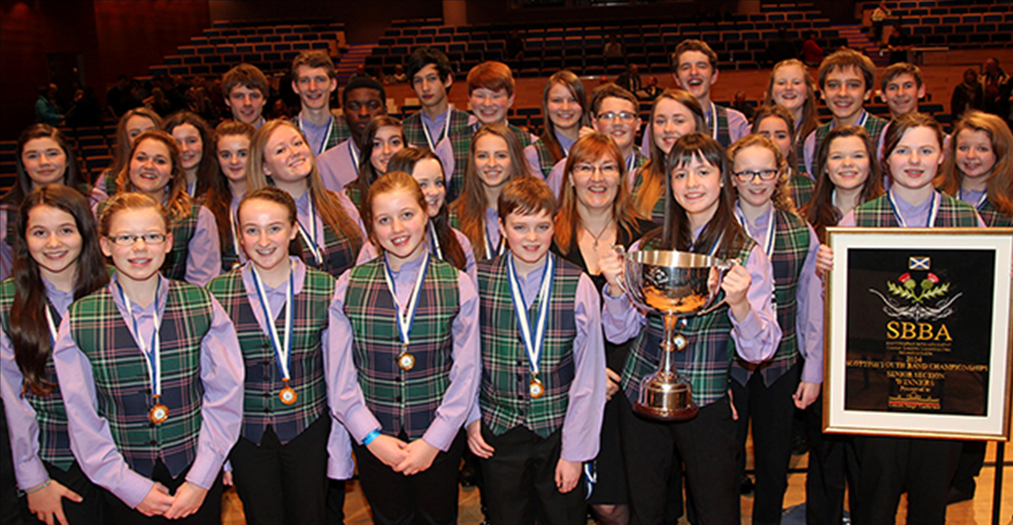 West Lothian Schools Brass Band